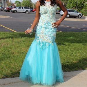 Rachel Allen mermaid dress